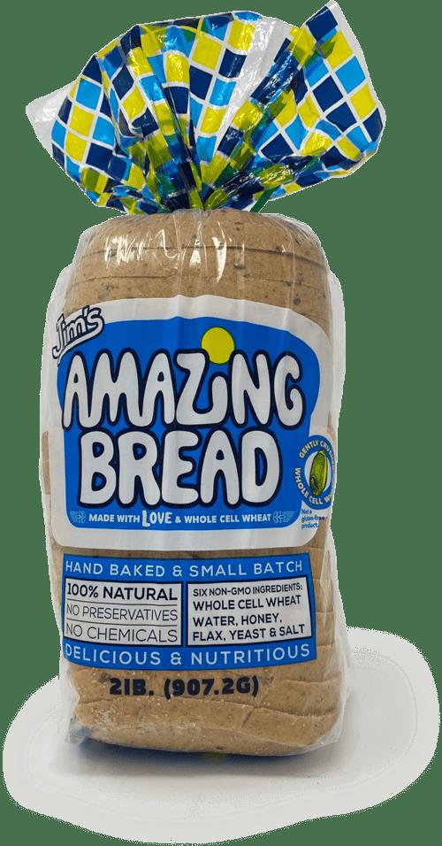 picture of jims amazing bread whole wheat bread