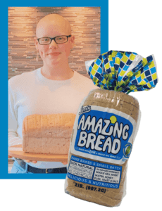 picture of Lili the inspiration behind Jim's Amazing Bread