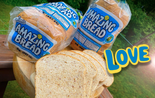 picture of a collage of whole-cell wheat bread loaves